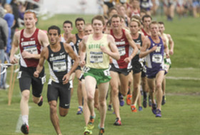 2014 Pac-12 Men's Cross Country Championships in Oakland.