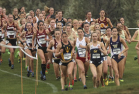 2014 Pac-12 Women's Cross Country Championships in Oakland.