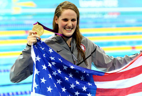<p>Franklin burst onto the scene at the London Olympics with four gold medals. The teenage phenom will bring her talent and bubbly personality to Berkeley this fall.</p>