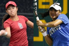 NCAA women's tennis: Seven singles, seven doubles players into Sweet 16