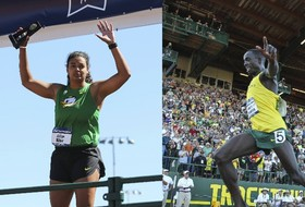 Roundup: Oregon track & field completes the sweep