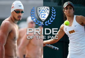 'Pride of the Pac': Zoe Scandalis and Cristian Quintero of USC