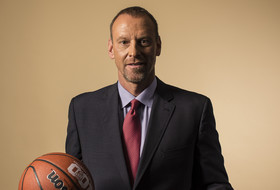 2015 Pac-12 Men's Basketball Media Day: Larry Krystkowiak remembers his days coaching in the CBA