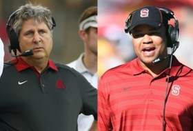 2015 Pac-12 Football Co-Coaches of the Year: Mike Leach & David Shaw