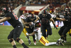 Pac-12 uniform watch: Stanford in black-out mode for championship against USC