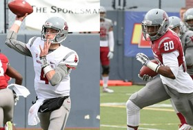 Roundup: Luke Falk, Dom Williams impress at WSU spring game