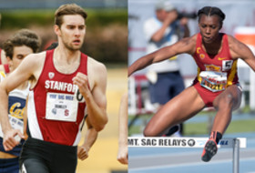 2016 Pac-12 Track & Field Scholar-Athletes of the Year: USC's Jaide Stepter and Stanford's Justin Brinkley