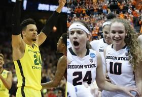 Roundup: Oregon men, Oregon State women into Sweet 16