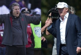 Roundup: Mike Leach and Donald Trump are good pals