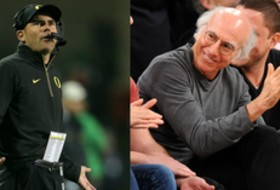 Roundup: Mark Helfrich invites 'Curb Your Enthusiasm' creator Larry David to coach Oregon