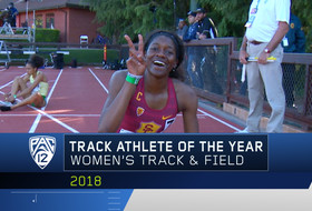 USC's Kendall Ellis joins elite company by winning Pac-12 Women's Track Athlete of the Year award