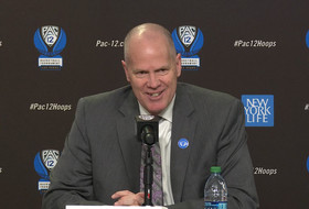 Colorado's Tad Boyle explains odd injury suffered rushing onto court in Pac-12 Tournament first-round win