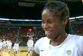 Oregon women's basketball's Ruthy Hebard on team's first trip to title game: 'We can't wait for tomorrow'