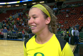 Oregon's Lexi Bando on 3-point scoring barrage in Pac-12 Tournament: 'They were just wide open shots'