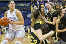 Roundup: Oregon shocks Duke, Kelsey Plum sets another record