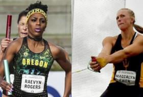 Roundup: Raevyn Rogers, Maggie Ewen sweep USTFCCCA outdoor honors