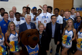 2017 Pac-12 China Game: UCLA men's basketball tours Alibaba Group campus in Hangzhou