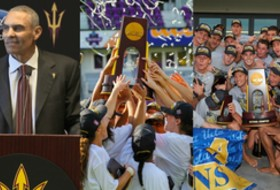 Roundup: Arizona State introduces Herm Edwards; Stanford and UCLA win titles