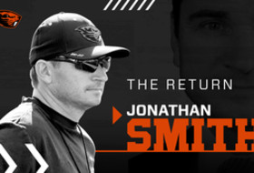 Pac-12 Networks live coverage today of Oregon State's introductory press conference for Jonathan Smith at 11am PT