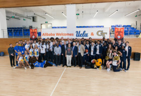 Small World Greets UCLA, Georgia Tech at Alibaba Ahead of Pac-12 China Game