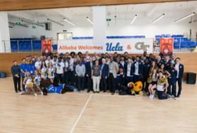 Small World Greets UCLA, Georgia Tech at Alibaba Ahead of Pac-12 China Game