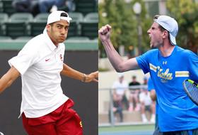 NCAA Men's Tennis Championships: UCLA, USC advance to Round of 16