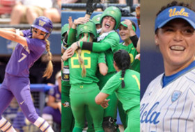 Women's College World Series: Washington, Oregon, UCLA all earn opening-day wins
