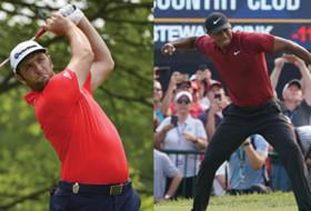 Roundup: Tiger Woods, Jon Rahm finish in top 5 at PGA Championship