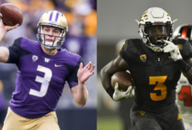 Roundup: UW's Jake Browning, ASU's Eno Benjamin break school records
