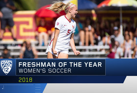 USC's Penelope Hocking wins Pac-12 Women's Soccer Freshman of the Year award