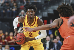 2018 Pac-12 Men's Basketball Tournament: USC tops Oregon State, 61-48