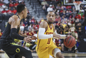 2018 Pac-12 Men's Basketball Tournament: USC stifles Oregon at both ends to get into title game