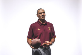 2018 Pac-12 Football Media Day: Herm Edwards zoning out doubters in first year with ASU