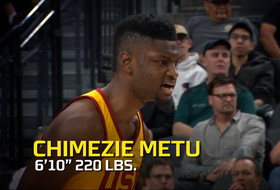 Chimezie Metu highlights: High-flying big man makes scoring and blocking look seamless