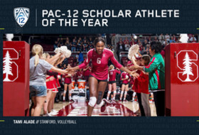 Stanford's Alade named Pac-12 volleyball Scholar-Athlete of the Year
