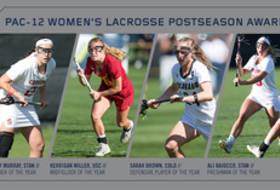 Pac-12 announces inaugural women's lacrosse postseason awards