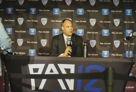 California head men's basketball coach Mark Fox at 2019 Pac-12 Men's Basketball Media Day