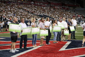 Arizona celebrates Extra Yard for Teachers