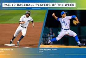 Pac-12 announces baseball players of the week