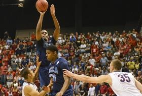 Video: UCLA's Jordan Adams hits 'money' three to win Pac-12 Tournament