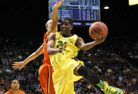 2014 Pac-12 Men's Basketball Tournament first round: Oregon wins Civil War