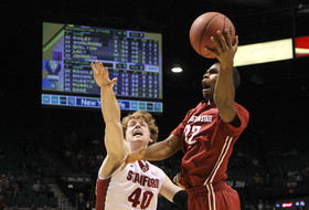 2014 Pac-12 Men's Basketball Tournament first round: Stanford ousts Washington State