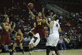 2014 Pac-12 Women's Basketball Tournament quarterfinals: Trojans survive Sun Devils to 'Fight on' to semis