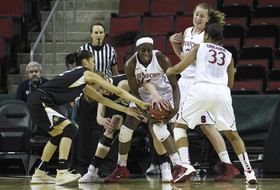 2014 Pac-12 Women's Basketball Tournament quarterfinals: Stanford pulls away from CU in second half