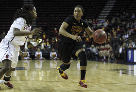 2014 Pac-12 Women's Basketball Tournament semifinals: USC topples No. 1 seed Stanford