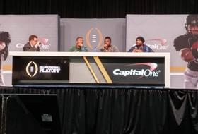 LaMichael James, Kenjon Barner, Jairus Byrd discuss Oregon's title chances
