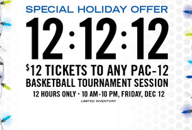 Promotion features $12 tickets to Pac-12 basketball tournament games