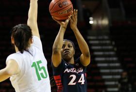 2016 Pac-12 Women's Tournament: LaBrittney Jones leads Arizona women past Oregon 74-68