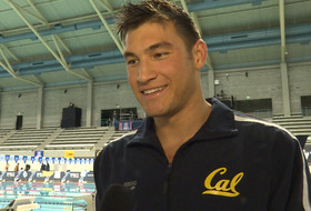 Cal's Connor Hoppe on winning 100-yard breaststroke at 2016 Pac-12 Men's Swimming Championship: 'I was really excited'