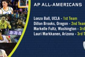 2016-17 Pac-12 Men's Basketball Associated Press All-Americans